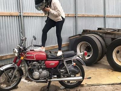 Stolen And Found: The Story Of A Once Prized 1972 Honda CB350 Four