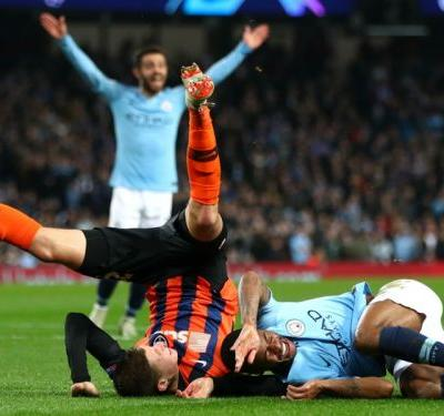 Manchester City 6 Shakhtar Donetsk 0: Bizarre penalty helps Jesus to hat-trick