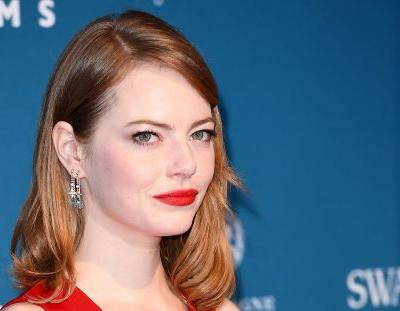 Emma Stone's New Dark Brown Hair Is Most Definitely Her Edgiest Look To Date