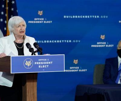 US stock futures rise as dollar and bonds fall ahead of Janet Yellen pledge to 'act big' on stimulus