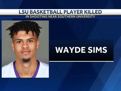 College basketball player shot to death in Louisiana