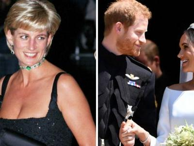 We Bet You Didn't Notice This Tribute to Princess Diana in Prince Harry and Meghan Markle's Wedding Photos