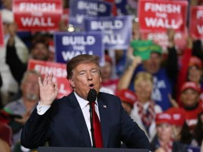 Trump Took Fight For Border Wall To El Paso - Where O'Rourke Was Ready For Him