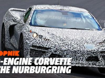 See and Hear the Mid-Engine 2020 Corvette Run the Nürburgring