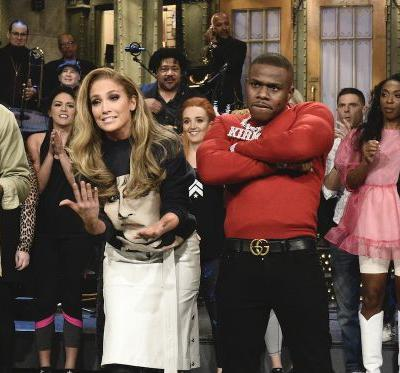 Watch J.Lo Host, DaBaby Perform On SNL