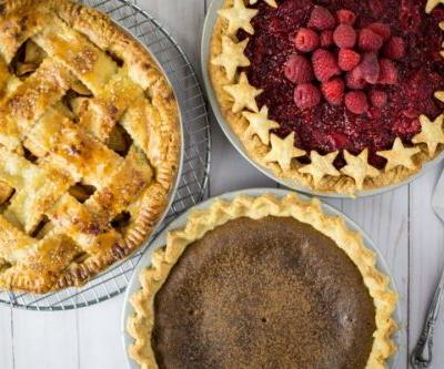 Dairy-free pie crusts and fillings
