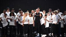 Logic Performs 'One Day' With Immigrant Families At 2018 MTV VMAs