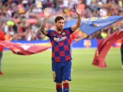 Messi to miss Barcelona's U.S. tour with injury