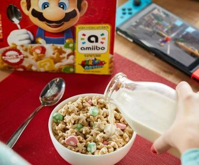 Target is no longer stocking the Super Mario Cereal