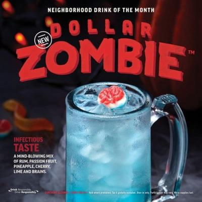 Applebee's Is Selling Dollar Zombie Drinks In October So You Can Get