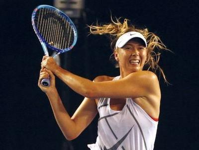 Sharapova storms past Peng into Tianjin final