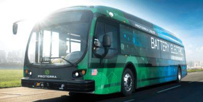Electric bus maker Proterra raises $55 million from Al Gore's investment firm and BMW