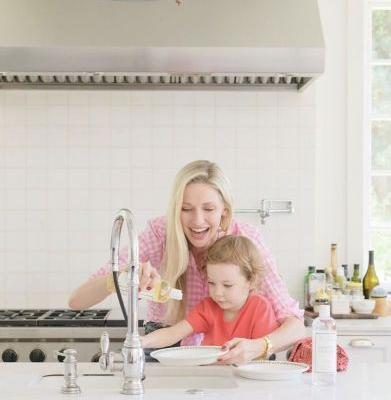 How to Get Your Kids Involved in Kitchen Clean Up