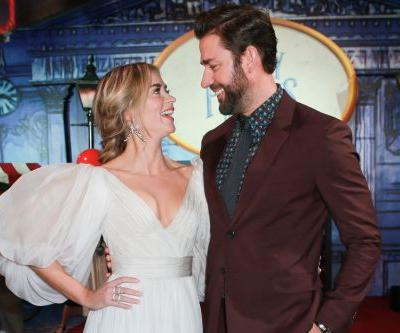 Say What?! Emily Blunt Never Saw An Episode Of 'The Office' Before Dating Her Now-Hubby John Krasinski