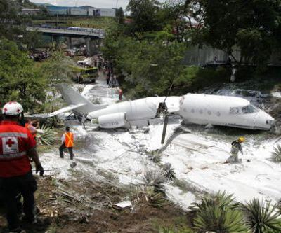 Private jet crashes in Honduran capital, all aboard survive