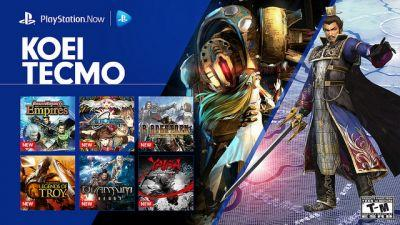 PS Now: 12 New Koei Tecmo Games Available Today