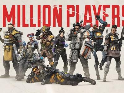 Respawn's Apex Legends Racks Up 1 Million Players In 8 Hours