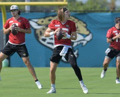 Jaguars assistant Brian Schottenheimer not ready to name Trevor Lawrence starting QB