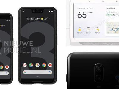This week's top stories: Pixel 3 & OnePlus 6T leaks, Google Home Hub, Android 9 Pie for Samsung, more