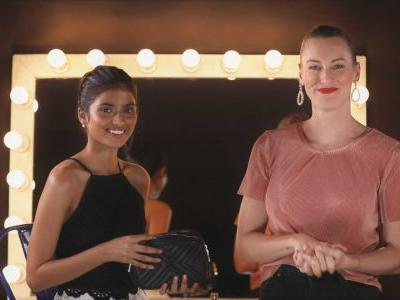 Beauty Lab Tutorial: Clover Wootton on how to create a perfect travel makeup bag & look