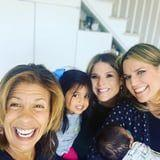Savannah Guthrie and Jenna Bush Hager Met Hoda Kotb's Baby Girl, and Hoda Is GLOWING