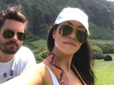 Kourtney Kardashian Shares A Pic With Scott Disick Amid Rumors He's Living With Sofia Richie