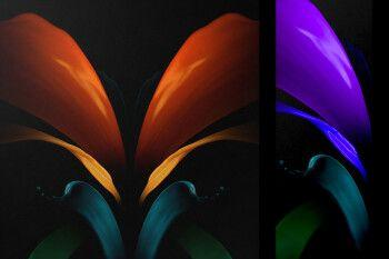 Leaked Galaxy Z Fold 2 wallpapers tip it won't fulfill a major foldable phone promise