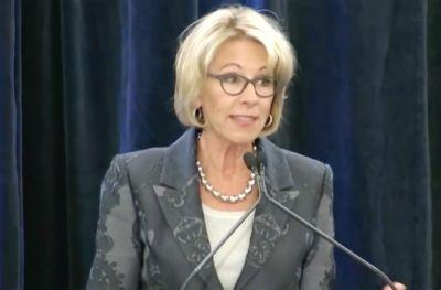 Betsy DeVos: Protecting LGBTQ Students Should Be 'Key Priority' for All Schools