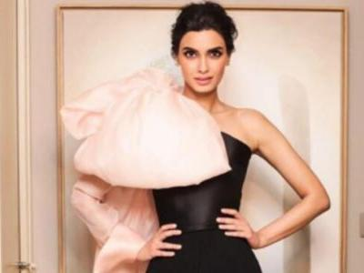 Cannes 2019: Diana Penty in one-shoulder bow jumpsuit is what dreams are made of