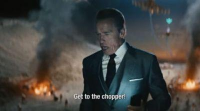 Mobile Strike's $5 million Super Bowl ad has Arnold Schwarzenegger rehashing his famous one-liners