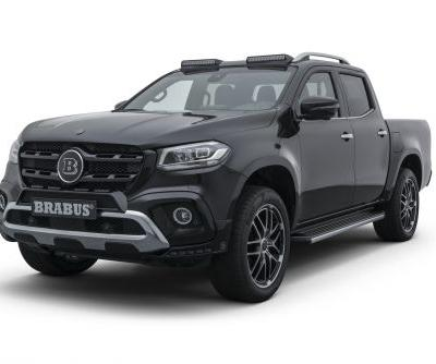 BRABUS Gives Mercedes-Benz X-Class Some More Power and Presence