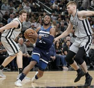 Spurs make season-high 18 3-pointers, rout Wolves 124-98
