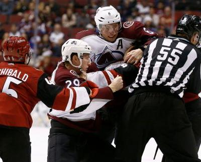Coyotes' Zac Rinaldo suspended six games for punch