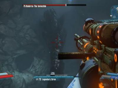 Borderlands 2: how to beat Haderax the Invincible and get the Toothpick Effervescent Assault Rifle