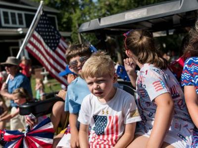 Photos show how Americans across the country are celebrating the Fourth of July