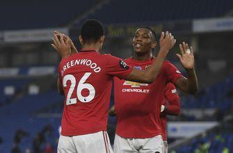 Fernandes nets twice in Man United's 3-0 victory at Brighton