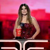 Sandra Bullock's MTV Awards Speech Will Make You Laugh, Cry, and Want to Call Your Mom