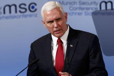 Pence assures Europe US will 'hold Russia accountable'