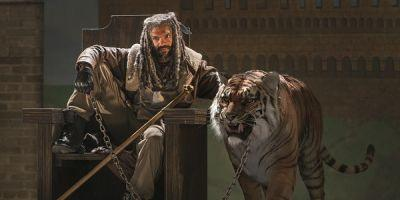 The Walking Dead Just Introduced King Ezekiel And His Tiger, And It Was Perfect