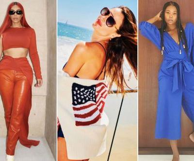 Celebrities celebrate the Fourth of July in style