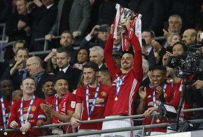 Ibrahimovic will 'stop on top' but is coy on United future