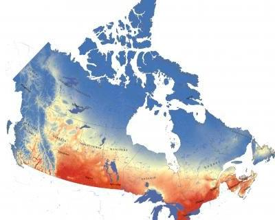Mapping Canada's climate future