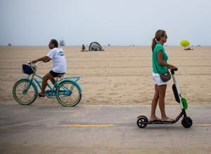 Lime pulls some electric scooters from 3 California markets, citing fire danger