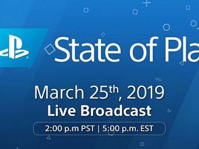 PlayStation Hosting State of Play Livestream Presentation on March 25