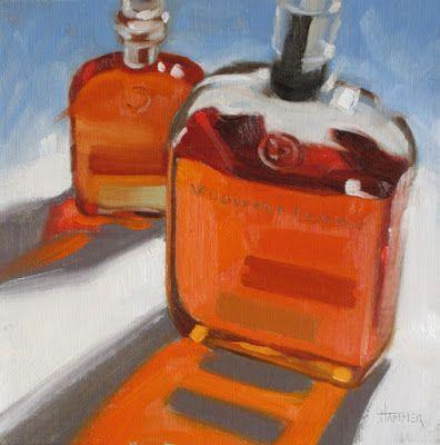 """Woodford and Woodford Jr."" 8in x 8in oil"