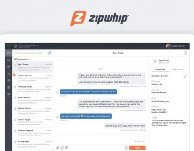 Zipwhip raises $51.5 million to bridge text messaging and phone calls