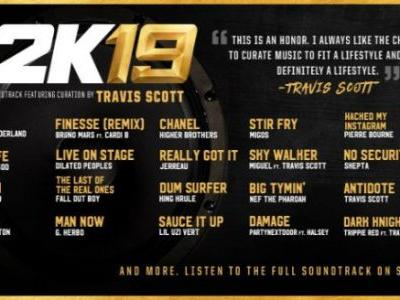 The NBA 2K19 Soundtrack is Out on Spotify, Curated by Travis Scott