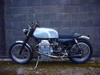 Moto Guzzi Special and it's not a Cafe Racer