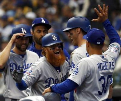 NLCS Game 2: Turner homers as Dodgers beat Brewers 4-3