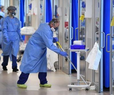 Public Health Wales figures show Covid-19 cases in Welsh hospitals